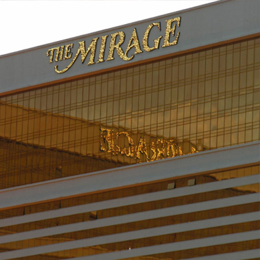 The Mirage Las Vegas 25th Anniversary Yearbook